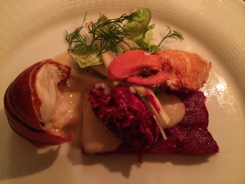 Eriks Bakficka - lobster entrée