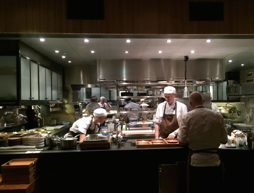 The kitchen at Oaxen