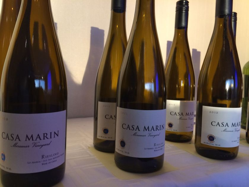 Chile's Casa Marin Miramar Vineyard Rieslings