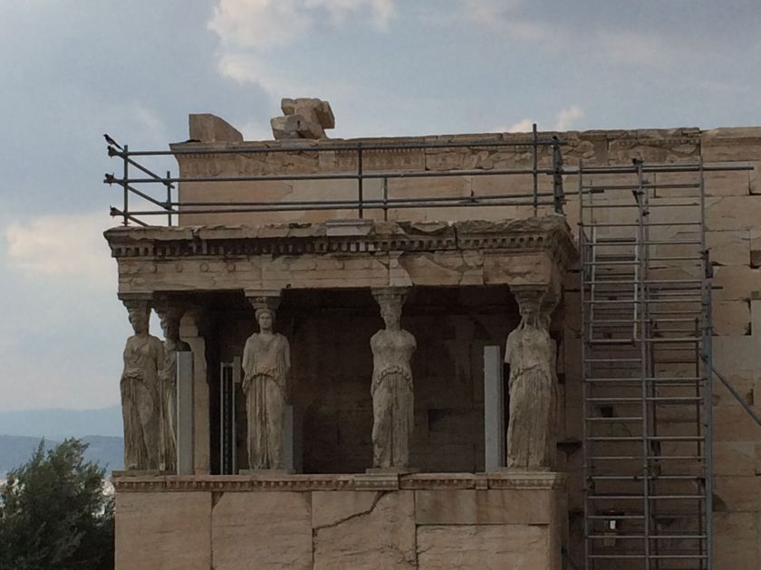 The Erechteion, Acropolis, Athens