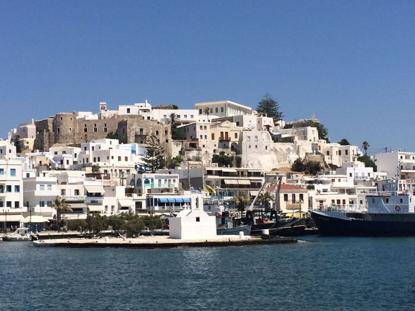 Naxos harbour, Greece