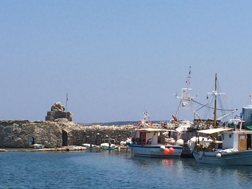 Port in Naoussa