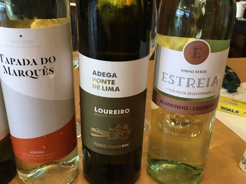 White Vinho Verde from Portugal