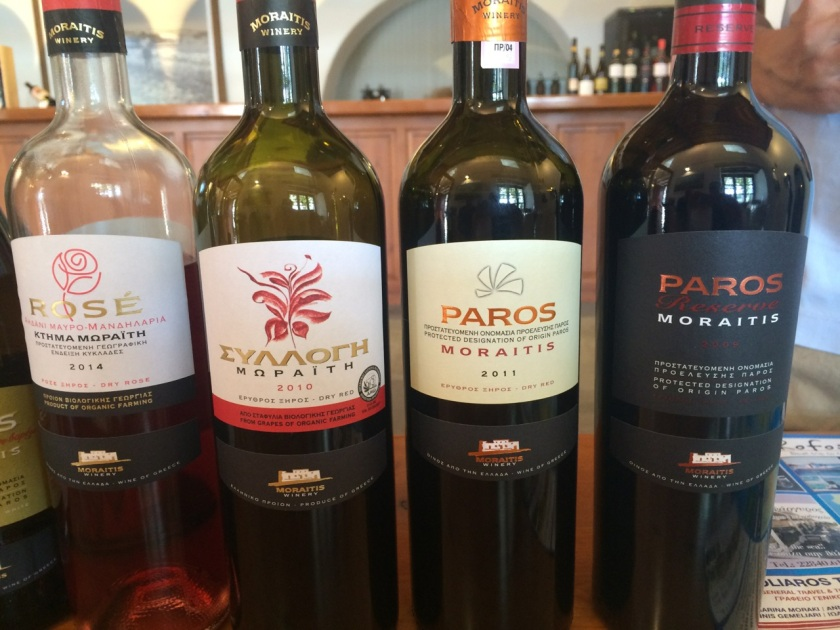 Moraitis Winery: red and rosé wines are made from Mandilaria