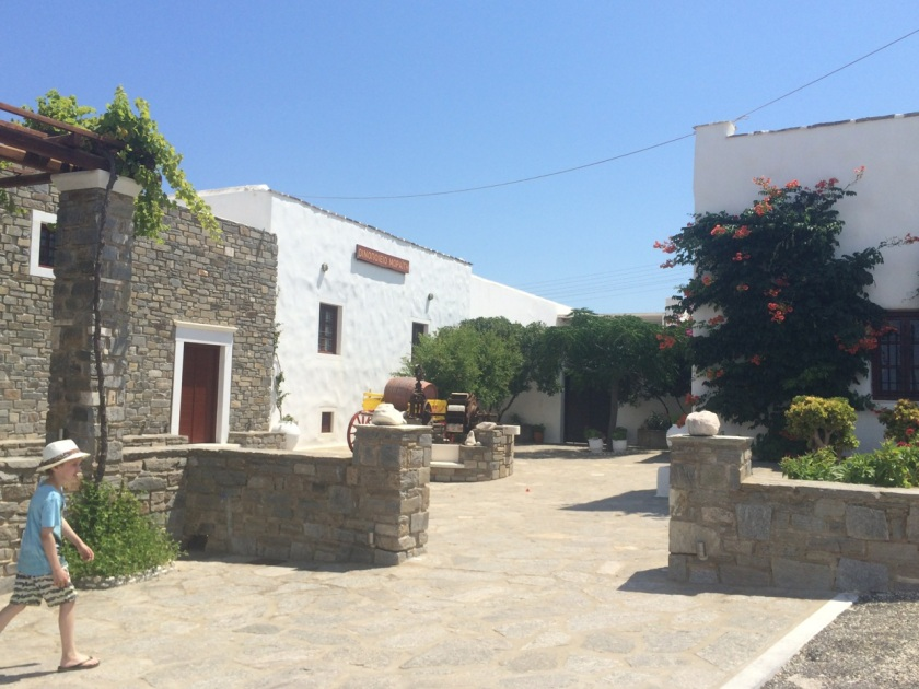 Moraitis Winery, Naoussa, Paros island, Greece