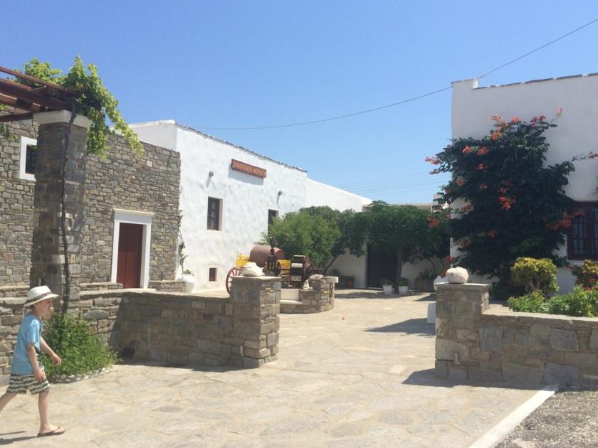 Moraitis Winery, Naoussa, Paros island, Greece